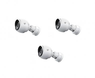 Caméra extérieure infrarouge IP 1080p Ubiquiti UVC-G3-BULLET-3 (Lot de 3, sans injecteurs PoE)