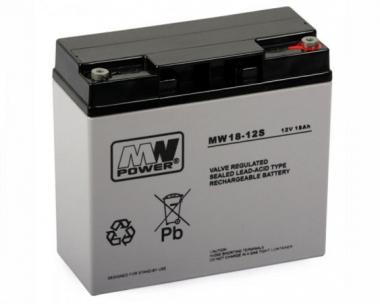 Batterie 12V 17Ah pour alimentation de secours