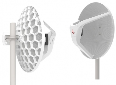 Kit Pont 1,5 km Gigabit 60 GHz 802.3ad MikroTik Wireless Wire Dish RBLHGG-60adkit