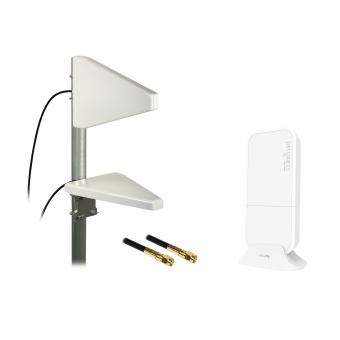 PROMO ! Kit sédentaire 2G/3G/4G Mikrotik wAP LTE