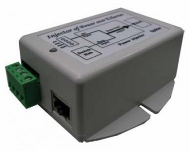 Convertisseur 9-36V vers 24V 19W avec injecteur PoE Gigabit Tycon TP-DCDC-1224G