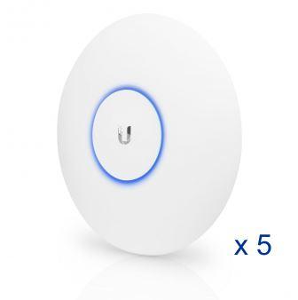 Point d'accès Ubiquiti UniFi UAP-AC-HD 802.11ac MU-MIMO (Lot de 5 sans injecteurs PoE)