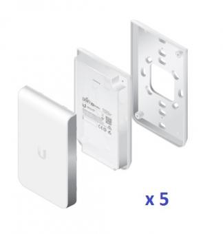Point d'accès Mural Ubiquiti UniFi UAP-AC-IW-5 802.11ac (Lot de 5 sans injecteurs PoE)