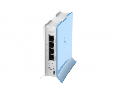 Routeur/Point d'accès 2.4 GHz MikroTik hAP Lite RB941-2nD-TC