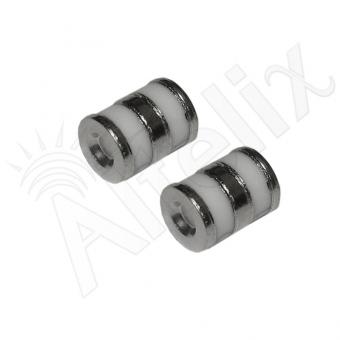 Cartouche à gaz de rechange 90V Altelix LGT6-090-2PK pour parafoudres LC06 (Lot de 2)