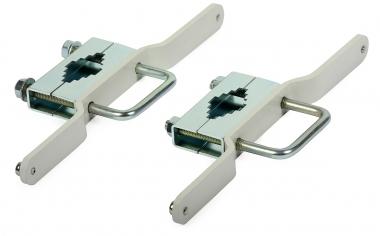 Fixation mat pour armoire métal
