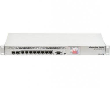 Routeur central hautes performances MikroTik Cloud Core CCR1009-8G-1S-1S+