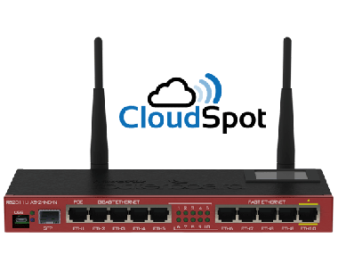 Solution HotSpot CloudSpot Pack Initial Micro (Max 300 utilisateurs)