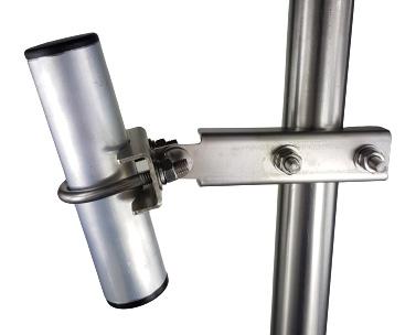 Fixation orientable pour mat pour tube Ø 50mm
