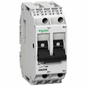 Disjoncteur Thermique-magnétique Schneider TeSys GB2DB14 8A-2P-2d