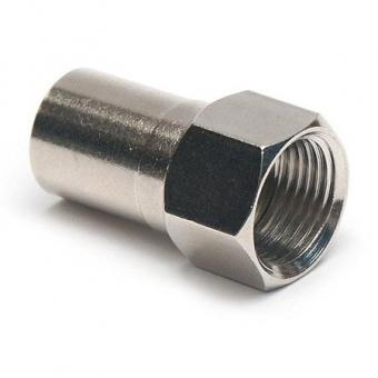 Connecteur à sertir F-Mâle (plug) pour coax TV/satellite