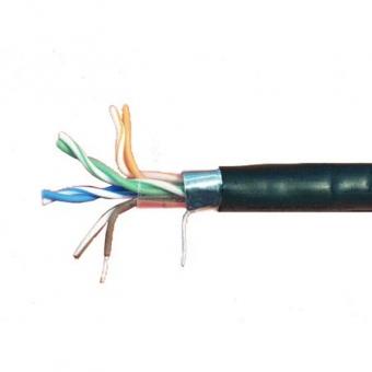 Câble Cat. 6 FTP extérieur Solarix AWG23 (1 mètre)