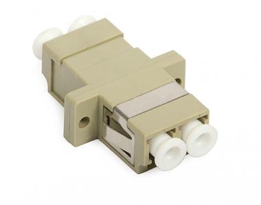 Adaptateur fibre traversée multimode LC/LC duplex