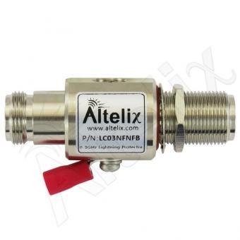 Parafoudre N-Femelle / N-Femelle 0-3 Ghz Altelix LC03NFNFB