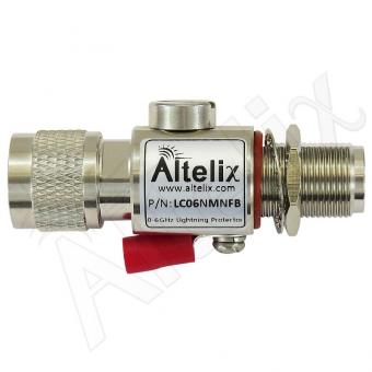Parafoudre N-Mâle / N-Femelle Chassis 0-6 GHz Altelix LC06NMNFB