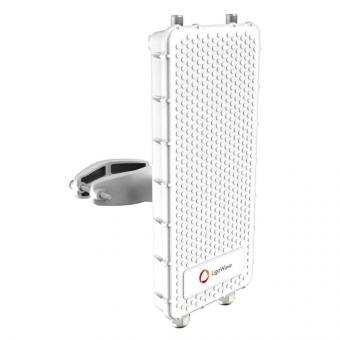 Point d'accès PtP extérieur LigoWave LigoPTP  5-N RapidFire avec connecteurs d'antenne