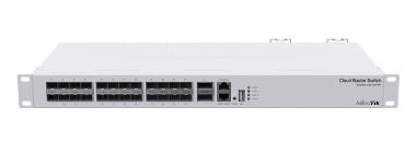 Switch réseau 24 ports SFP+, 2 ports QSFP+ MikroTik CRS326-24S+2Q+RM