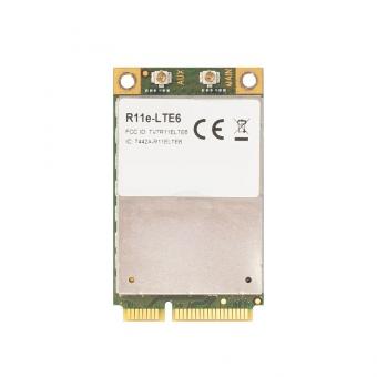 Carte Mini PCIe LTE6 4G/LTE MikroTik R11e-LTE6