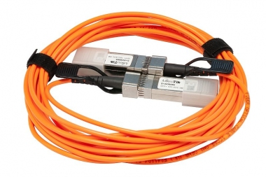 Cordon 5 mètres actif avec modules SFP+ MikroTik S+AO0005
