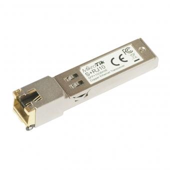 Module SFP+ vers Ethernet RJ45 10 Gbps MikroTik S+RJ10