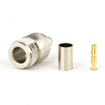 Connecteur à sertir N-Femelle pour H-155/CNT-240