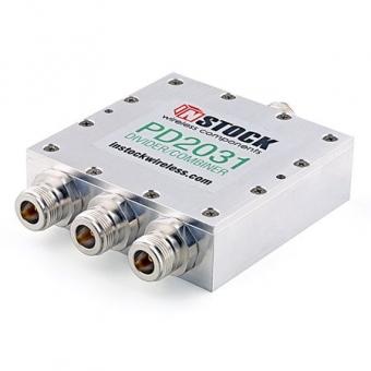 Splitter/Combiner 3 voies 0.7-2.7 GHz N-Femelle InStock PD2031