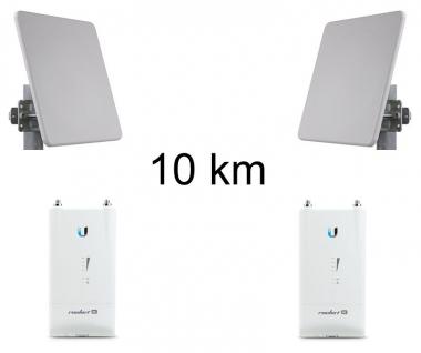 Kit Pont Réseau Très Haut débit 5 GHz Longue portée jusqu'à 10 km
