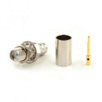 Connecteur à sertir RP-SMA-Jack pour H-155/CNT-240