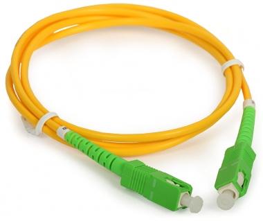 Cordon fibre monomode SC/APC 1m SC/APC simplex