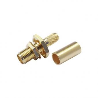 Connecteur à sertir SMA-Femelle châssis pour RG-174/RG-316 Telegärtner J01151A0541