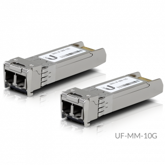 Paire de Modules SFP+ 2xLC multimode Ubiquiti UFiber UF-MM-10G