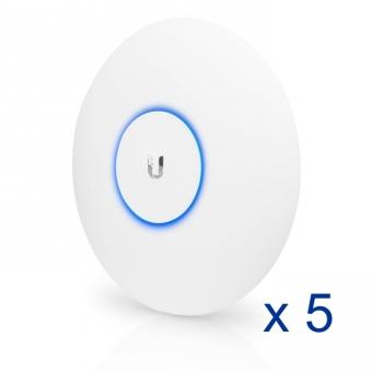 Point d'accès intérieur/extérieur Ubiquiti UniFi UAP-AC-PRO-5 802.11ac (Lot de 5)