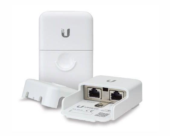 Parafoudre Ethernet RJ45 Extérieur compatible PoE jusqu'à 50 Volts Ubiquiti ETH-SP-G2