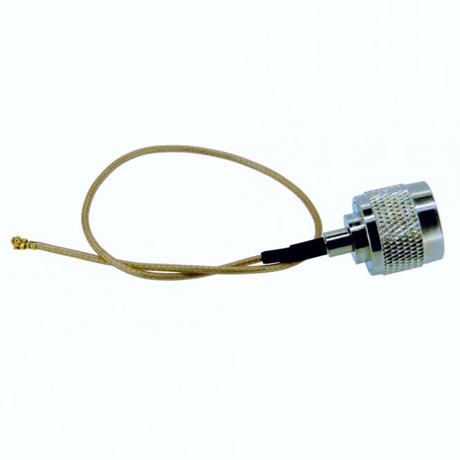 Cordon UFL vers N-Mâle 25cm Ø 1.8 mm type RG178