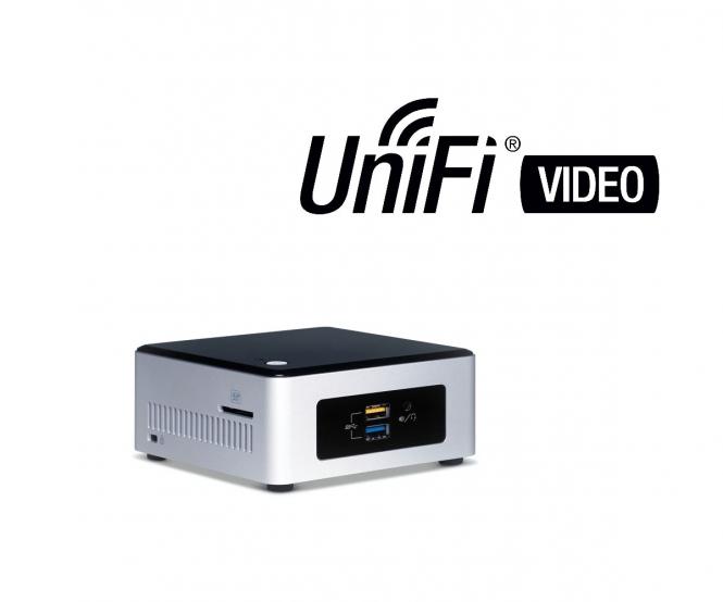 Enregistreur UniFi Vidéo Intel NUC 2 To