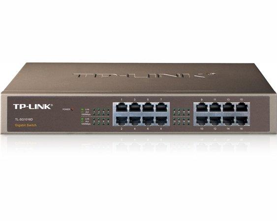Switch réseau Gigabit 16 ports 10/100/1000 TP-Link TL-SG1016D