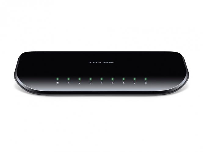 Switch réseau Gigabit 8 ports 10/100/1000 TP-Link TL-SG1008D