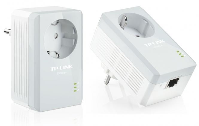Adaptateur Ethernet CPL 600 MBits TP-Link TL-PA4010P KIT (Lot de 2)