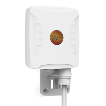Antenne Omni Multibande Double Polarité GSM/3G/4G/5G 4 dBi Poynting XPOL-1-5G avec câbles 5 mètres SMA-Mâle