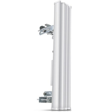 Antenne Sectorielle double pol 2.4 GHz 15 dBi 120° Ubiquiti AirMax AM-2G15-120