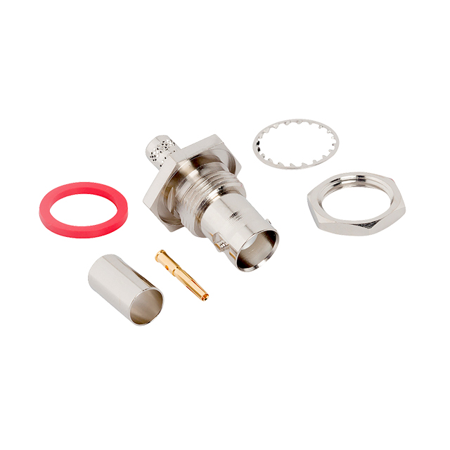 Connecteur BNC-Femelle châssis à sertir pour CNT-240/LMR-240 Amphenol