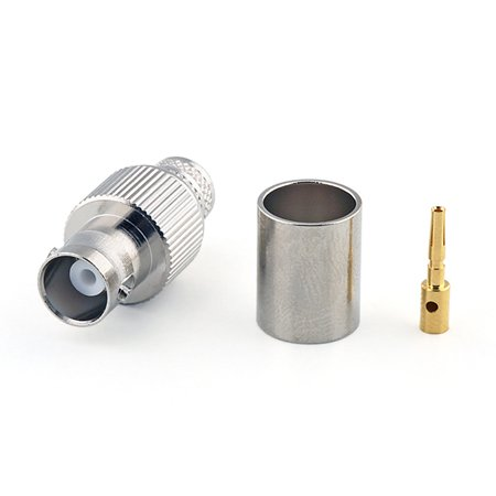 Connecteur à sertir BNC-Femelle (Jack) Amphenol pour CNT-400/LMR-400