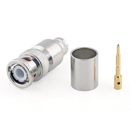 Connecteur à sertir BNC-Mâle (plug) pour CNT-400/LMR-400 Telegärtner J01000A0061