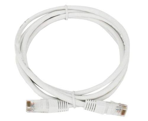 Cordon réseau Cat. 5e UTP blanc (1,50 mètres)