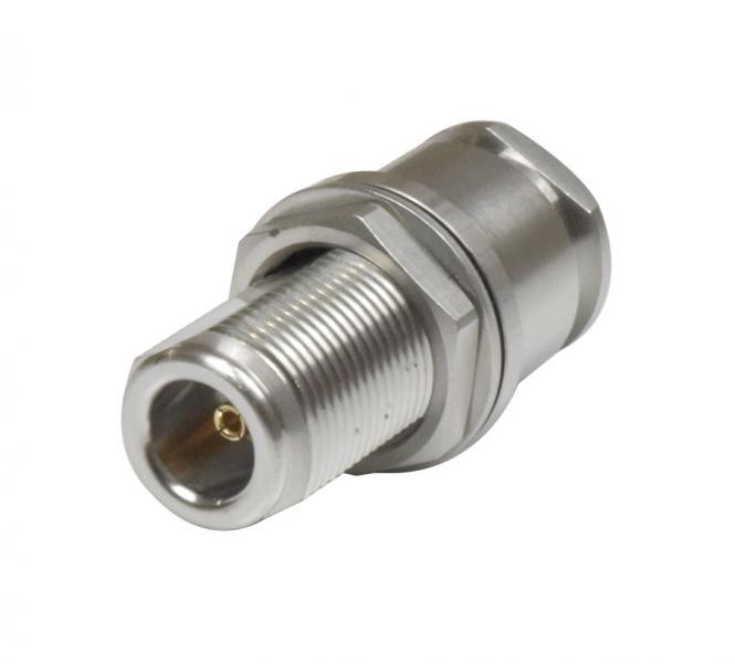 Connecteur à presse-étoupe N-Femelle châssis pour RTK-400/LMR-400 Rosenberger 53K50C-0N9N4