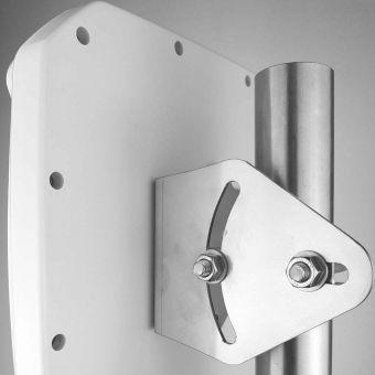 Fixation inox marine pour antenne Poynting XPOL-2