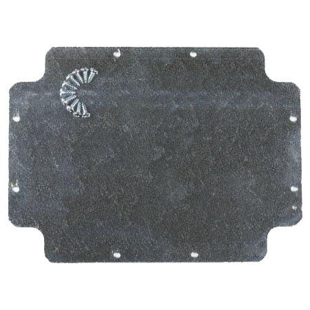 Plaque de fond inox pour boîte Gewiss GW44210 380x300