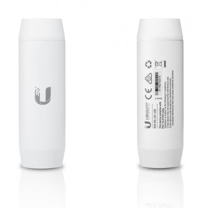 Convertisseur PoE 802.3af vers USB 5V 2,5A Ubiquiti INS-3AF-USB