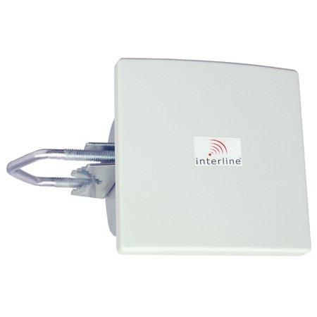 Antenne Panneau 2.4 GHz 8 dBi Interline IP-G08-F2425-HV-N (ex- INT-PAN-08/24-HV)