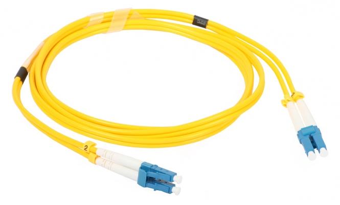 Cordon fibre monomode LC/UPC 1.5m LC/UPC duplex